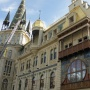 The restored municipal building in Batumi, facade