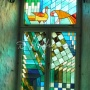 A window of seminar-room in hotel Savoy. Tallinn, 2013