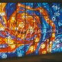 "The Window-mural ""Starry Sky"",  rest home in town of Narva-Jõesuu 1979"
