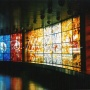 "Mural ""Television - Window to the World"" in the circular foyer of Tallinn's TV Tower"
