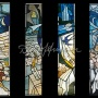 "Part of series of windows ""Five nights"" in hotel Leningrad in St. Petersburg 1984"