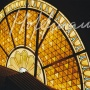 Ceiling panel, restaurant in Saint Petersburg 2002