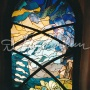 "Windows in restaurant ""Contravento"""