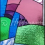 Fragment of staircase window in Batumi