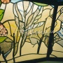 Ceiling panel, Lukoil, fragment